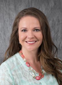 Dr. Brooke Dunlavy in teal shirt - headshot