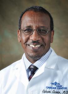 Dr. Elamin Elshami headshot