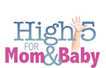 High 5 for mom & baby logo