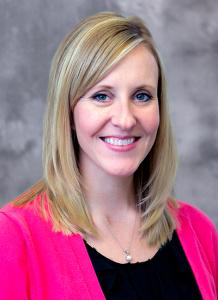 Dr. Lindsey Regier headshot
