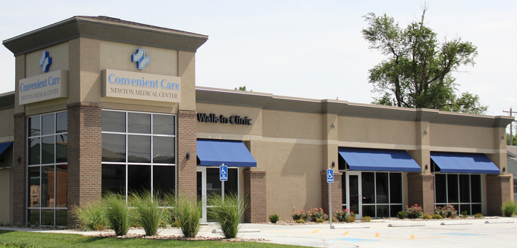 Exterior shot of Newton Convenient Care Walk-In Clinic