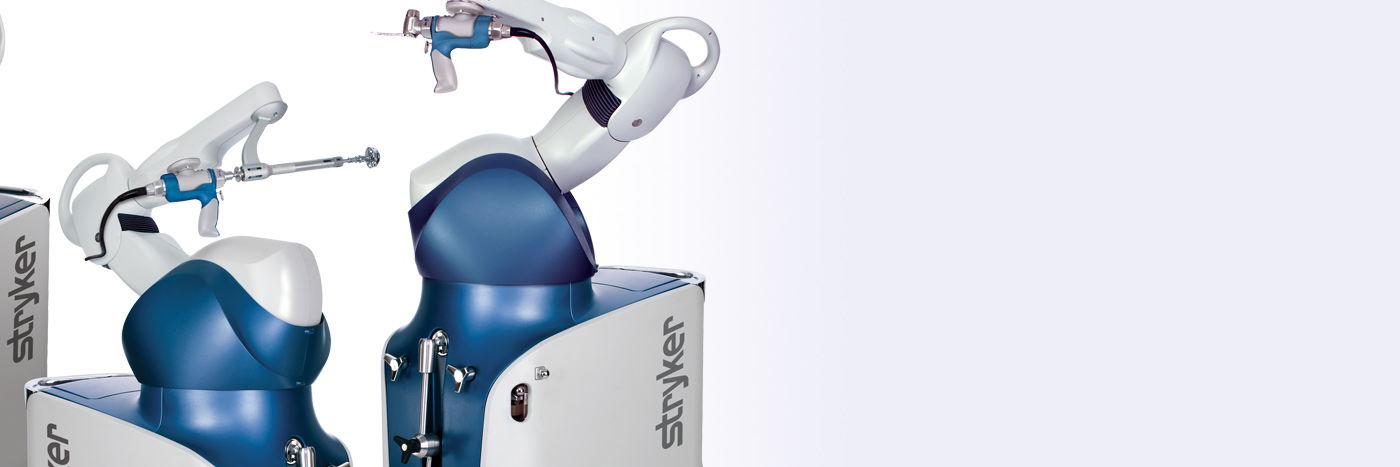 Stryker robots used for various surgeries