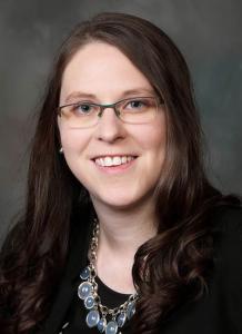 Dr. Margaret Yoder in black shirt - headshot
