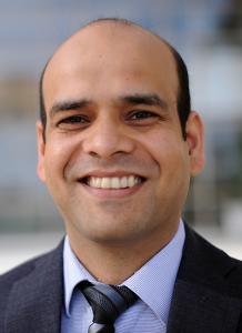 Dr. Gaurav Tyagi in suit - headshot