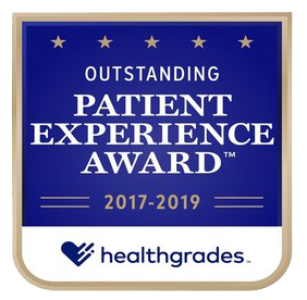 Outstanding Patient Experience Award from Healthgrades