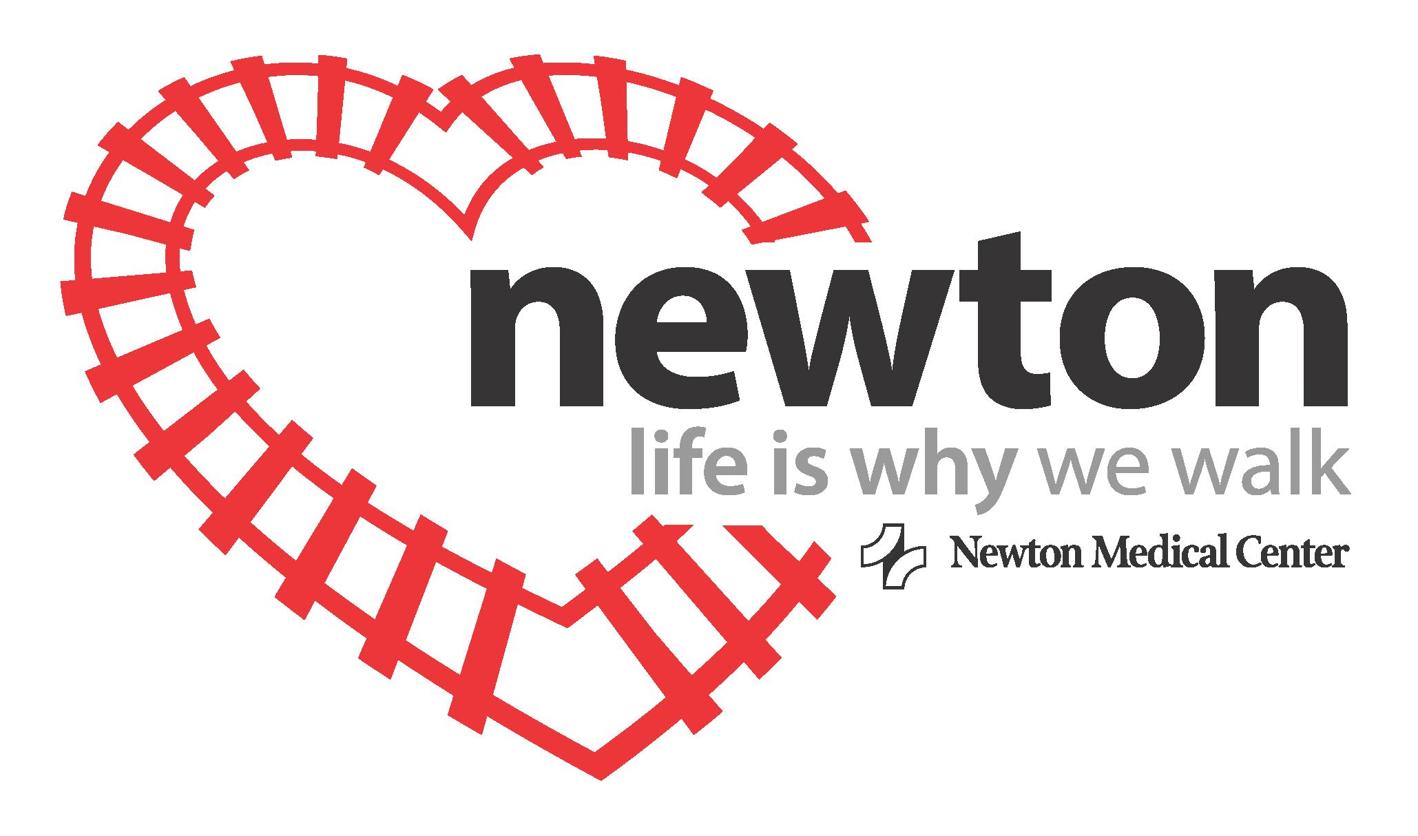 Newton community life is why we walk flyer