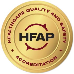 HFAP Seal of Accreditation logo