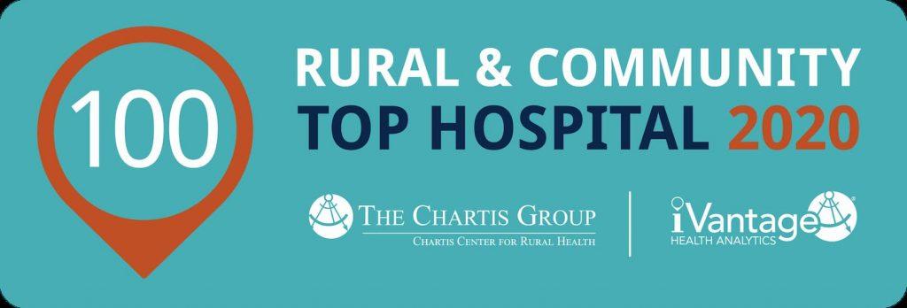 CCRH Rural & Community Top Hospital Award Banner
