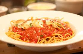 bowl of spaghetti squash spaghetti