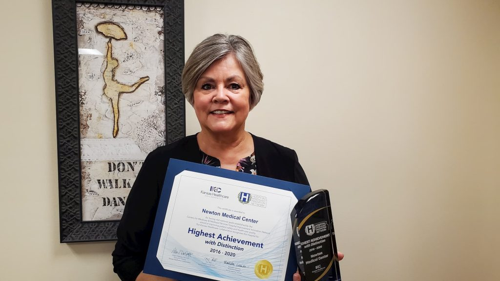 Newton Medical Center recognized for patient safety achievements