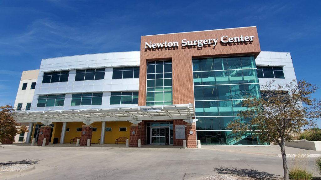 Surgery Center in newton ks exterior office building with specialty care