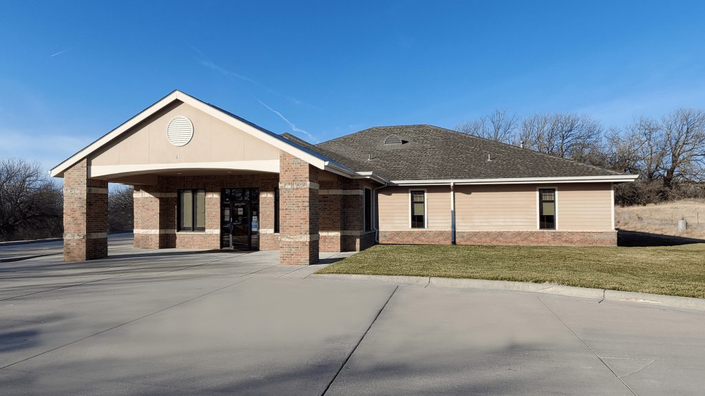 exterior shot of nmc health family medicine valley center in valley center ks family doctor primary care provider office dr clinic family practice