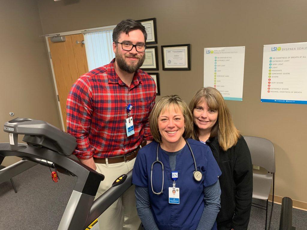 nmc health cardiac rehab team cory, jill, sharon
