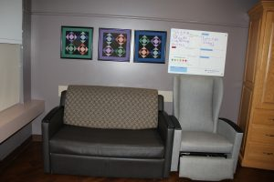 Family Birthing Center Couch and Chair