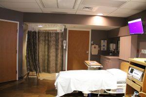 Family Birthing Center Room